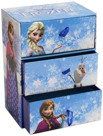 Cool Create Fun Tiles Frozen Deluxe Jewellery Box