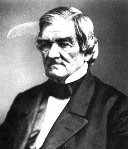 """Cherokee Cheif John Ross, aka Cherokee Moses, leader of the march west known as """"The Trail of Tears"""""""