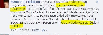 La Manif pour tous n'est pas homophobe mais...