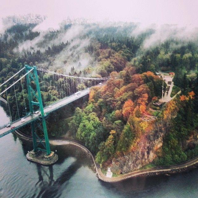 Bird's eye view of Vancouver. Photo courtesy of heathermcgillivray on Instagram.