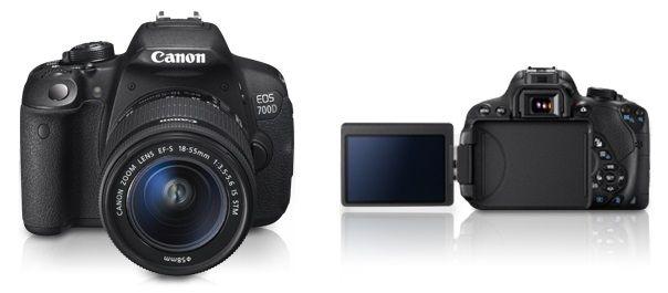 Aparat foto DSLR Canon EOS 700D, 18MP, Black + Obiectiv EF-S 18-55mm IS STM Surprinde fiecare moment cu aparatul foto DSLR Canon EOS 700D cu rezultate pe masura, de care sa va bucurati datorita fotografiilor si filmarilor de inalta calitate. Captarea celor mai importante detalii se vor face cu usurinta chiar si in conditii de intuneric. Are un senzor de 18 megapixeli cu un ecran tactil LCD II Clear View cu un unghi variabil, fiind foarte usor de utilizat.