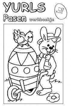 Werkboekje Pasen 1ste en 2de leerjaar (groep 3 en 4)