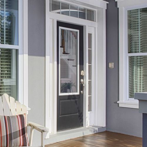 Best Of Entry Doors with Built In Blinds