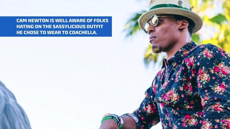 Fabulous Fashionisto Cam Newton Explains His Sassylicious Coachella Fit