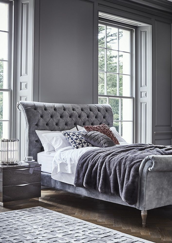 The Odeon Bed Frame Luxury Bedframe Beds Luxury Bed Frames