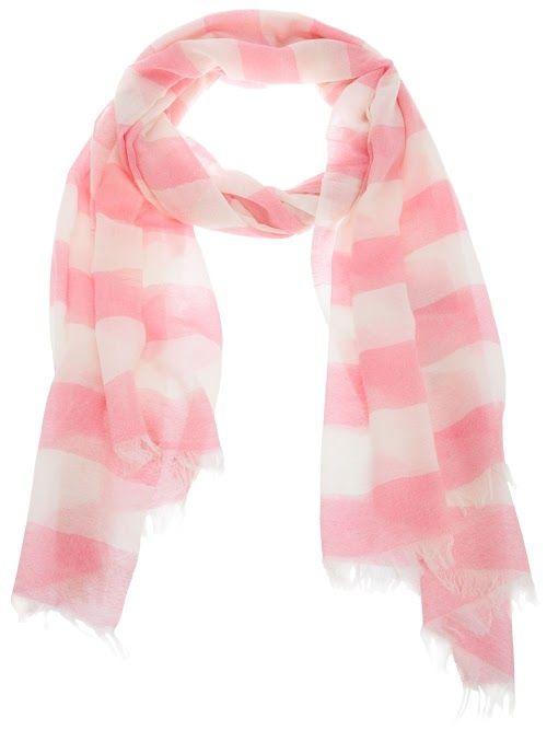 : Pink Scarf, Fashion, Pink Stripes, Sander Scarf, Style, Jil Sander, Scarfs, Closet