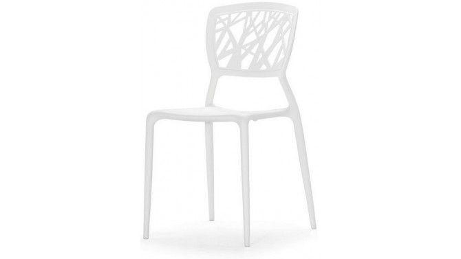 Chaise tendance blanche en polypropylène - Anatole
