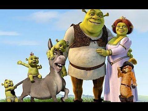 Filmes completos dublados ღ Shrek Para Sempre ღ Desenhos animados em por...