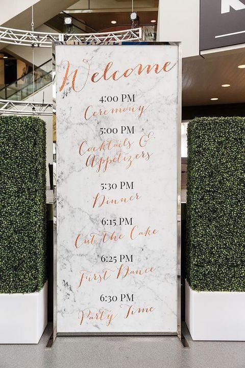 35 Marble Wedding Ideas For A Refined Touch | HappyWedd.com