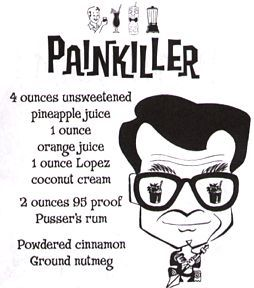 Delicious Painkiller recipe.