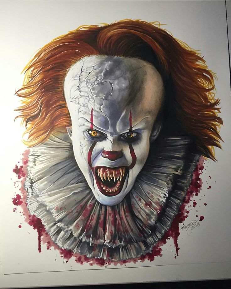 Pennywise - Demonic, sinister crazy clown