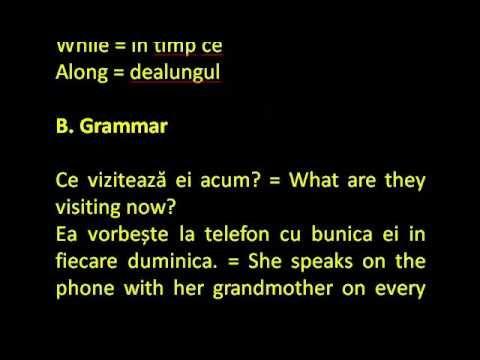 Engleza simplu ca ABC- Pasul 6, Lectia 297