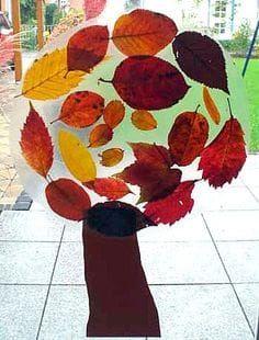 Windowpictures – Nature Crafting – My Kleinzonen en ik – Gemaakt met Zweedse design.com  – Herbst