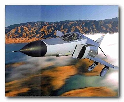 The F-4 Phantom II was a twin-engine, all-weather, fighter-bomber. It is a tandem two-seat, twin-engine, all-weather, long-range supersonic jet interceptor fighter bomber originally developed for the United States Navy by McDonnell Aircraft. The F-4 Phantom II was famous for being the deadliest fighter in the skies over Vietnam.