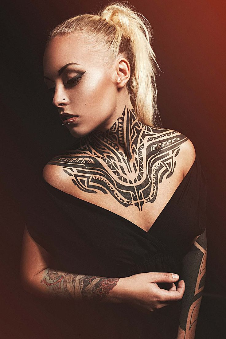 teya-salat-vert-red-gorgeous-female-tattooed-model-blackwork-tribal-backpiece-chestpiece-back-chest-neck-side-tattoo-sexy-body-suit-for-fine-art-for-bodies-tariq-sabur-tempe-arizona-tatt.jpg 1,200×1,800 pixels