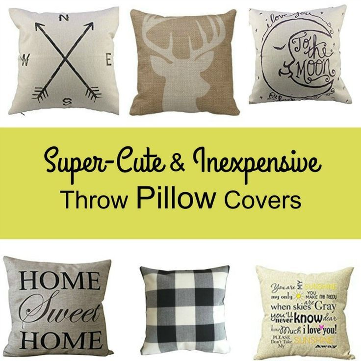 Super Cute & Inexpensive Throw Pillow