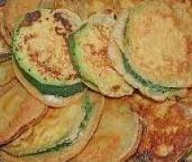 Gerrys himmlische Zucchini aus dem Klostergarten im Bierteig