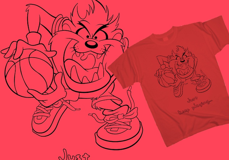 Taz - Come and get it! http://www.toonshirts.com/products/looney-tunes/73-taz-come-and-get-it