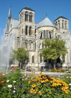 Collégiale de Notre-Dame-en-Vaux à Châlons-en-Champagne, ville natale de Jean Talon
