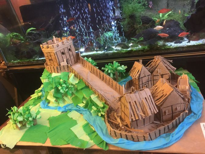 How to Make a Motte and Bailey Castle (with Pictures)
