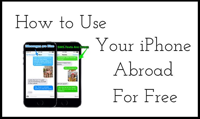 How to Use Your iPhone for Free Abroad Text, call, and use the internet while traveling abroad with your iPhone for free.