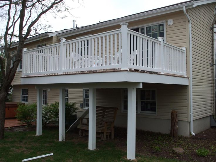 ab4410200461aac15bbd70217dfdd19c backyard patio backyard ideas second floor decks deck second floor deck forked river nj,House Plans With Second Story Porch