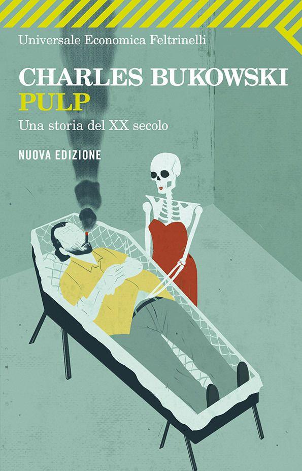 Love Emiliano Ponzi's award-winning covers for Charles Bukowski books