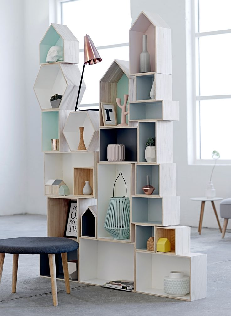 Shadow boxes by Bloomingville   Room and Bloom Homewares