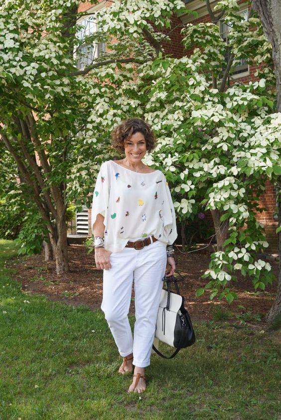 50 looks confortáveis de verão para as 50+ | Blog da Mari Calegari