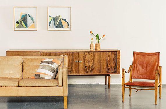 Muebles de estilo Mid-Century para el salón - http://www.decoora.com/muebles-de-estilo-mid-century-para-el-salon.html