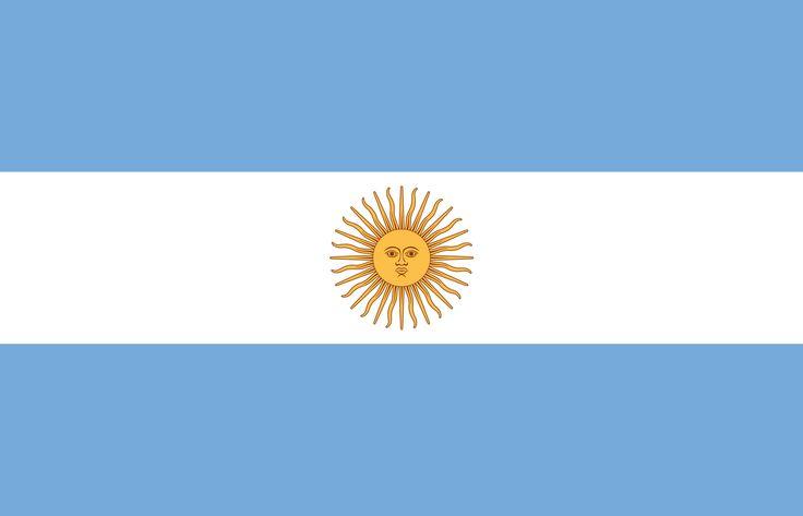 Argentinien Flagge auf http://www.fremdenverkehrsbuero.info/flaggen/argentinien-flagge.html