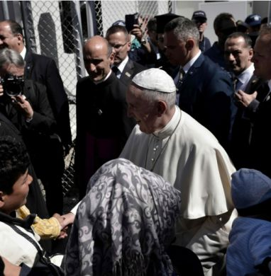 Pope Francis Takes 12 Refugees Back to Vatican After Trip to Greece Pope Francis made an emotional visit into the heart of Europe's migrant crisis on Saturday and took 12 Muslim refugees from Syria, including six children, with him back to Rome aboard the papal plane. The action punctuated the pope's pleas for sympathy to the crisis confronting the refugees just as European attitudes are hardening against […]