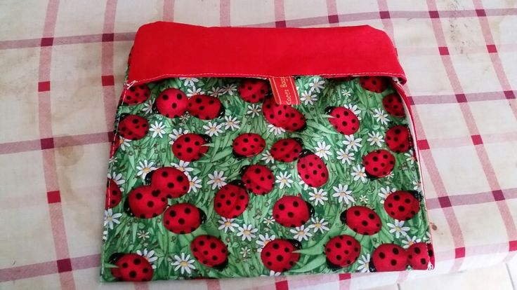 Lunch/Snack Bag. Tutorial for it over here: http://www.cottonbottommama.com/2012/03/reusable-snack-bag-tutorial.html?m=1