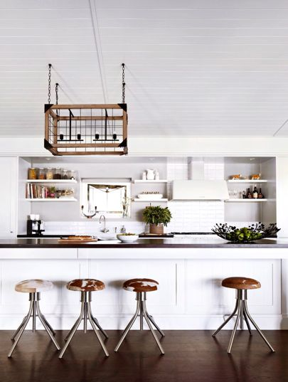 Main Inspiration for the Kitchen - clean, bright and contemporary with some traditional elements such as simple timber detailing on cupboard doors so it feels as if it belongs in the apartment. As a small space it will need light colours to open it up and feel larger.