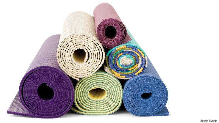 Got grime? Learn how to clean your yoga mat.