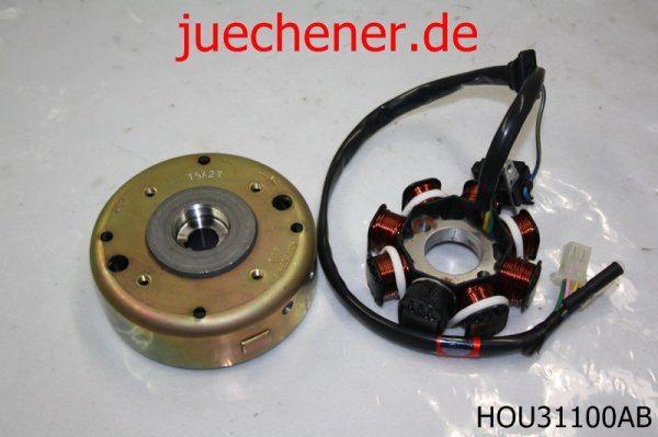 SYM RS, Shark, Euro MX 125 Lichtmaschine komplett 31100-H3A-010