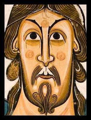 Pantocrator San Clemente de Taull Valle del Boí (Sant Climent de Taüll-La Vall de Boí) Museo de Arte de Cataluña MNAC
