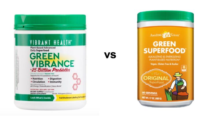 Are you looking for high-quality superfood supplement? We compare Green Vibrance and Green Superfood supplements and compare taste, health…