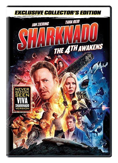 Tara Reid & Ian Ziering & Anthony C. Ferrante-Sharknado: The 4th Awakens