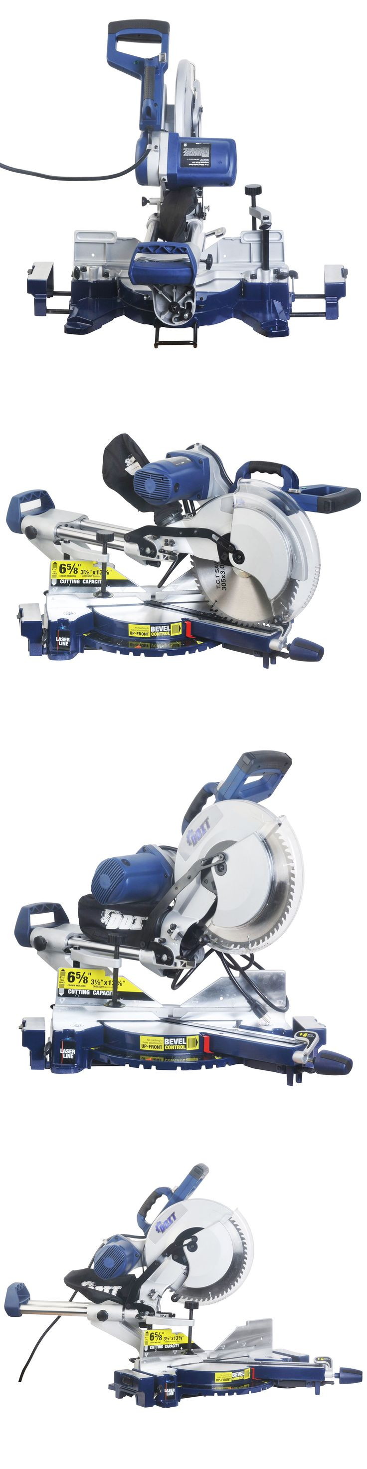 Miter and Chop Saws 20787: 12 Double-Bevel Sliding Compound Miter Saw W Laser Guide Trim Moulding -> BUY IT NOW ONLY: $175.99 on eBay!
