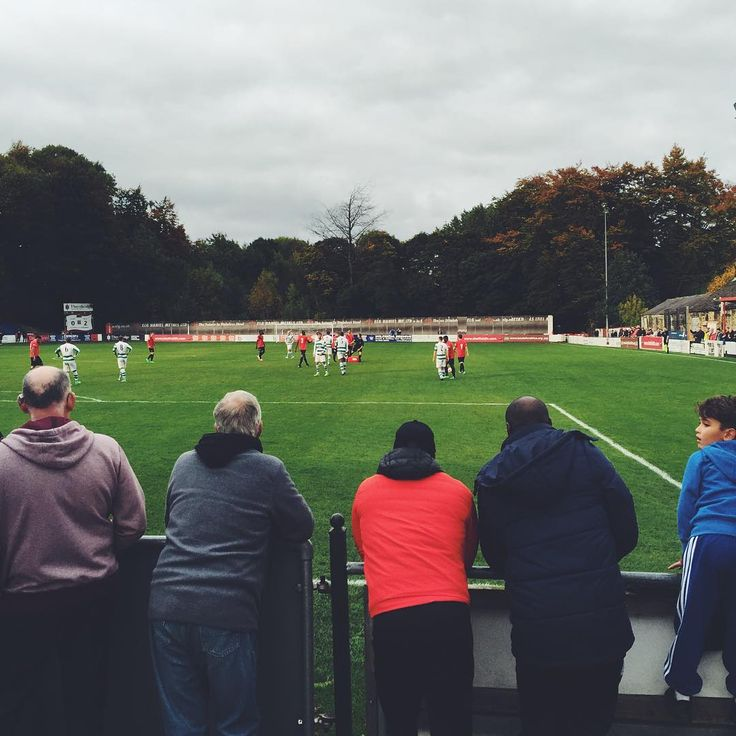 """Non-league football. England.  Sheffield FC is the world's first football club, founded in 1857. Playing today in a small stadium in Dronfield, just…"""