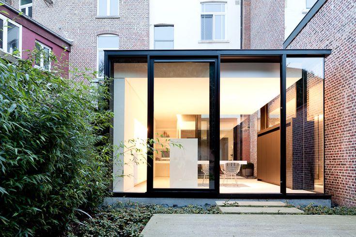 25 beste idee n over keuken baksteen op pinterest bakstenen keuken droomkeukens en - Deco moderne binnenmuur ...