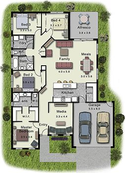 Dakota 237 Floor Plan