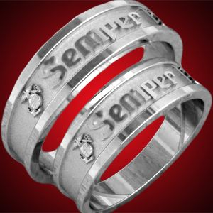 13 best images about Semper Fi on Pinterest Couple jewelry