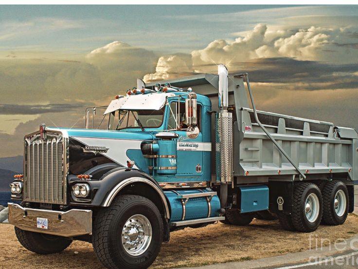 Pin by mark gepner on trucks dump trucks kenworth