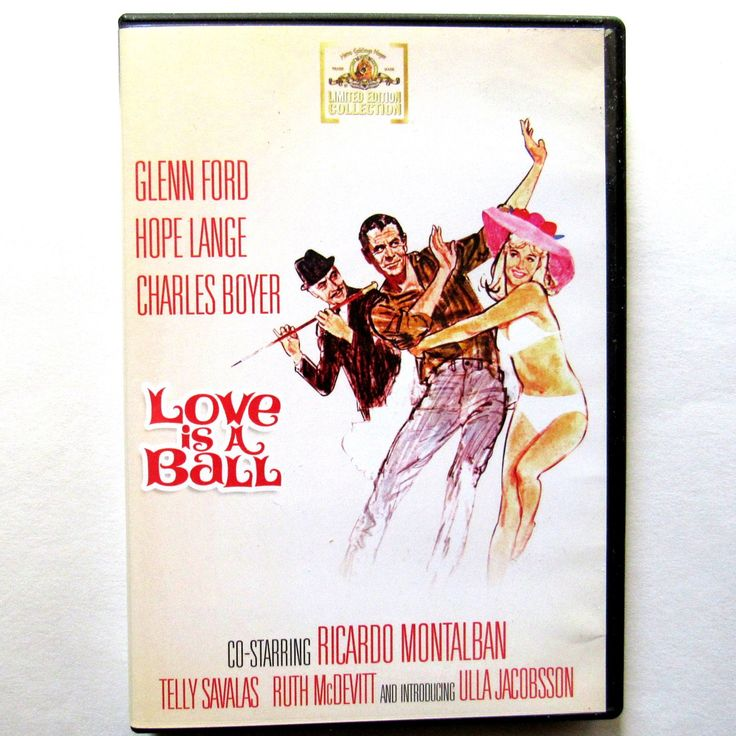Love Is A Ball DVD 2011 Widescreen NR Glen Ford Hope Lange Charles Boyer One Disc Classic 1963   Love+Is+A+Ball+DVD+2011+Widescreen+NR+Glen+Ford+Hope+Lange+Charles+Boyer+One+Disc+Classic+1963