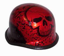 BoneYard German Novelty Motorcycle Helmet