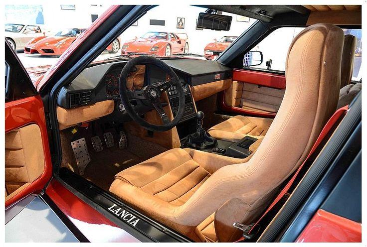 Lancia Delta S4 Stradale Interior rear 3/4 driver side