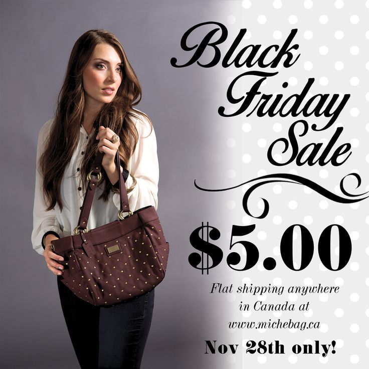 One Day Only Sale!!! go to www.michebag.ca for savings!