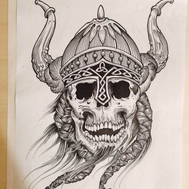 Image result for Viking tattoo flash designs
